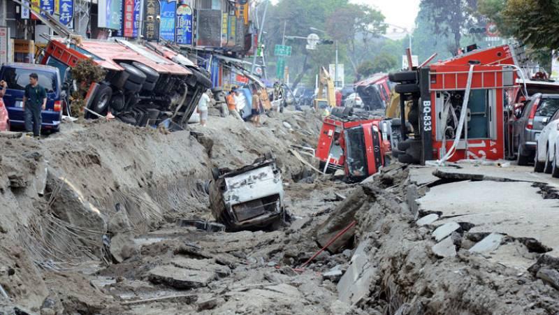 Al menos 25 personas han muerto y más de 200 han resultado heridas tras unas explosiones en Taiwán