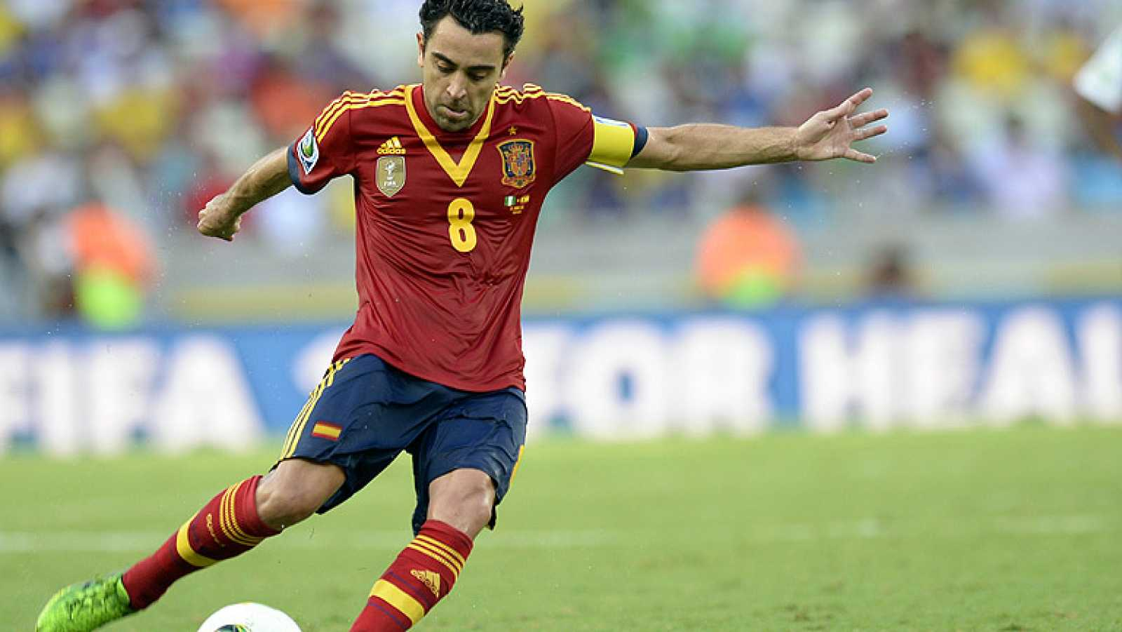 Xavi Hernández, uno de los jugadores más importantes de la historia de la selección, ha anunciado su adiós a su carrera como internacional.