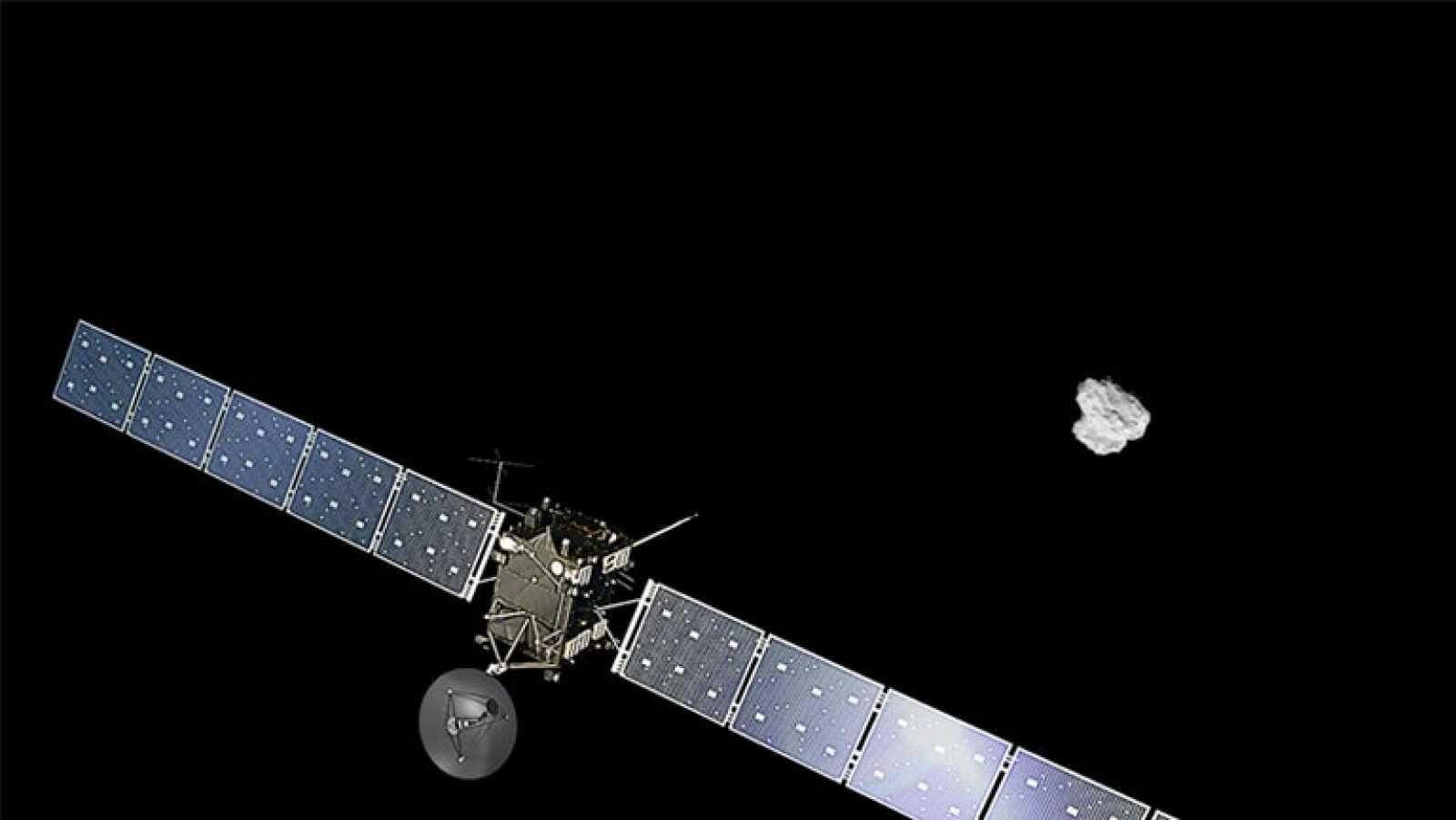 La sonda Rosetta llega con éxito a la órbita del cometa 67P/Churyumov-Gerasimenko