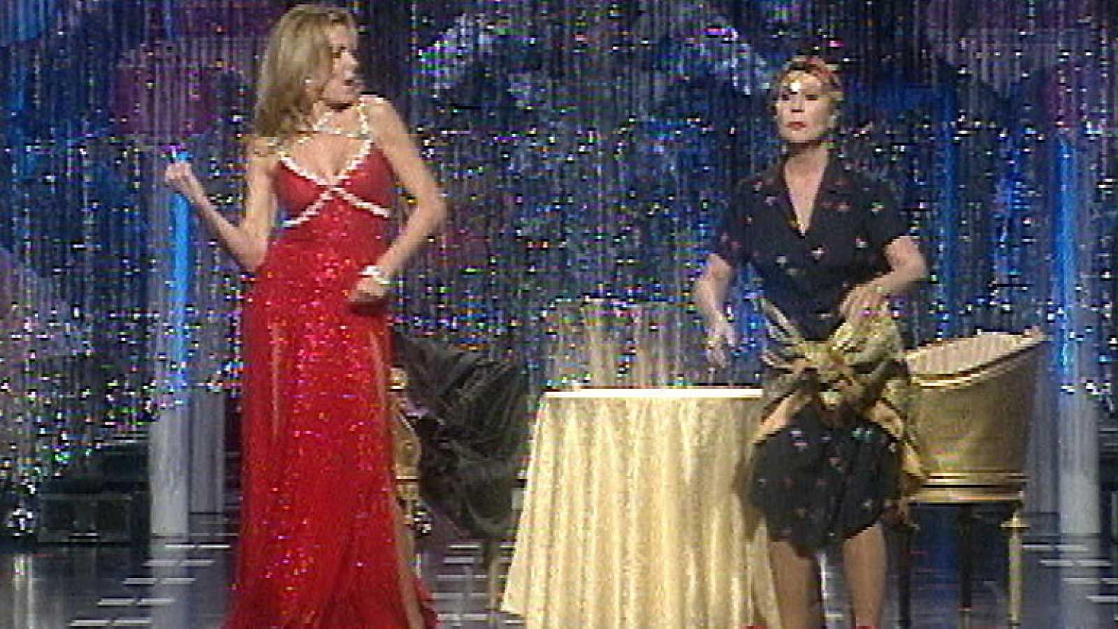 Ana Obregón y Lina Morgan, dúo musical
