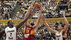 Baloncesto - Preparación Campeonato del Mundo. España-Canadá