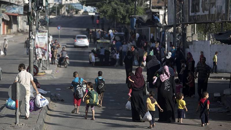 Las milicias palestinas lanzan cohetes contra Israel al finalizar la tregua de 72 horas