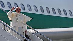 El papa Francisco emprende su viaje oficial a Corea del Sur