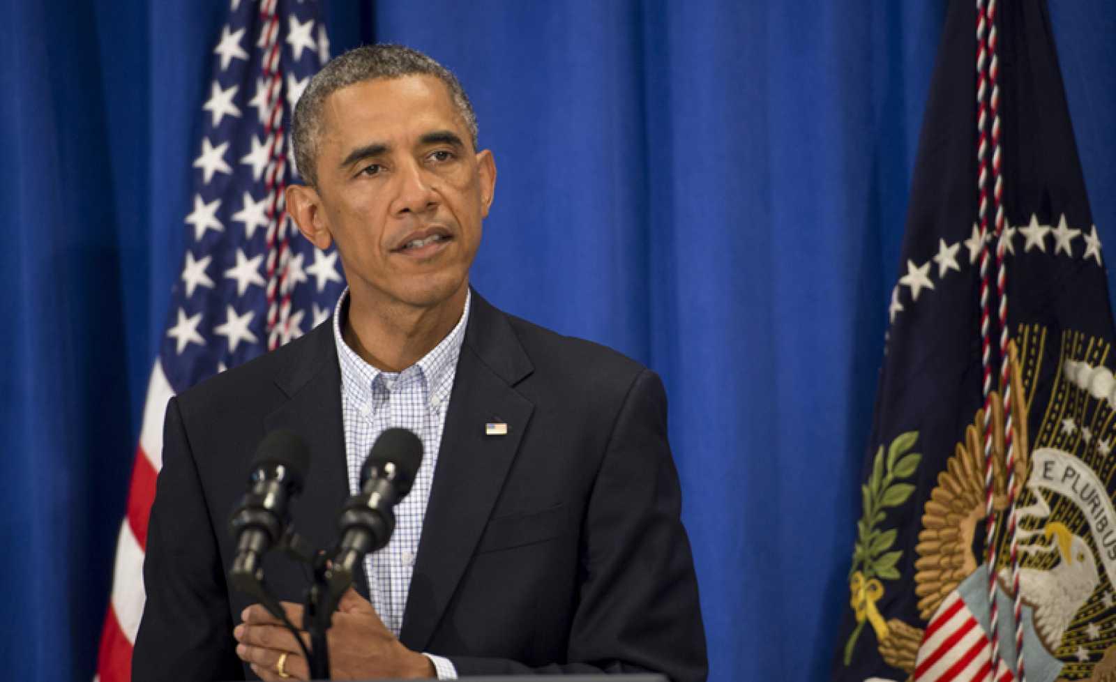 Obama asegura que el rescate en Irak no es necesario, pero continuará los bombardeos
