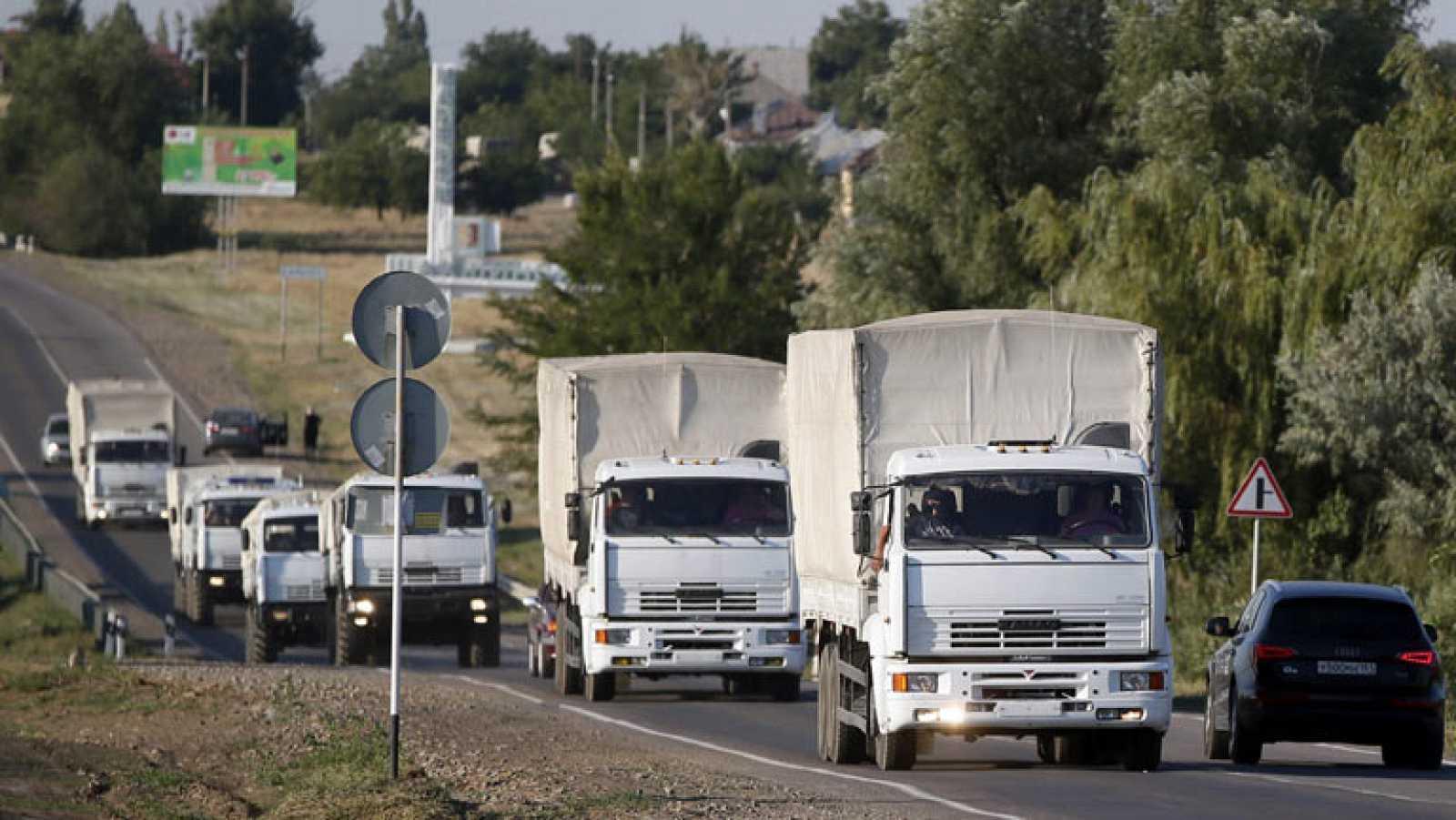 La UE pide a Rusia que ponga fin a cualquier hostilidad en la frontera con Ucrania