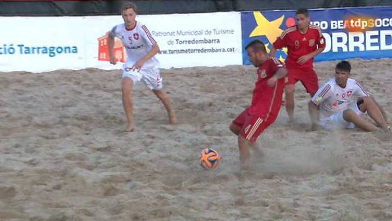 Fútbol Playa - Súperfinal: Suiza - España - ver ahora