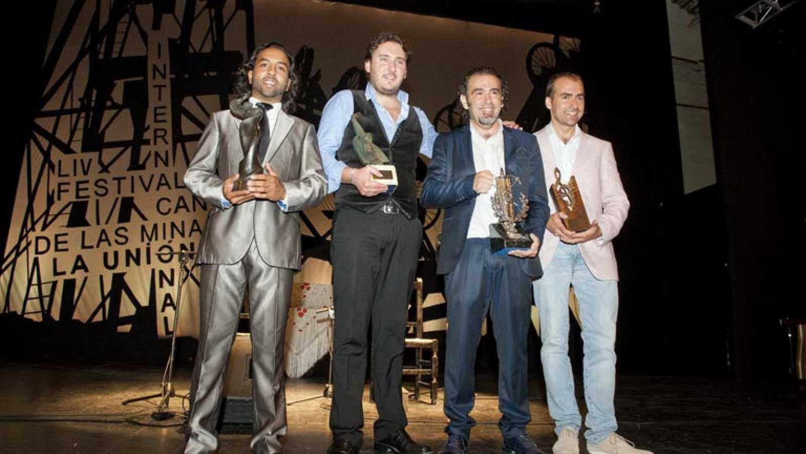 El gaditano David Lagos gana la Lámpara Minera del Festival Internacional de Cante de las Minas