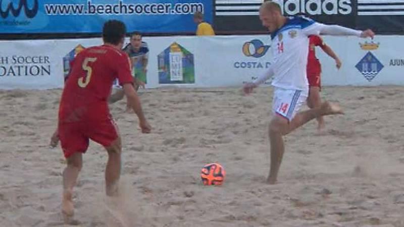 Fútbol Playa - Súperfinal: Final España - Rusia - ver ahora