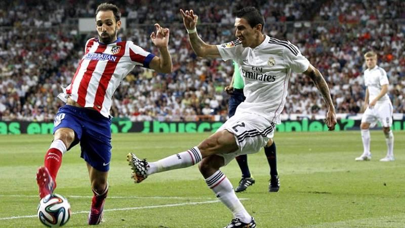 El Real Madrid se ha concentrado en Valdebebas para preparar el duelo de vuelta de la Supercopa del Calderón.