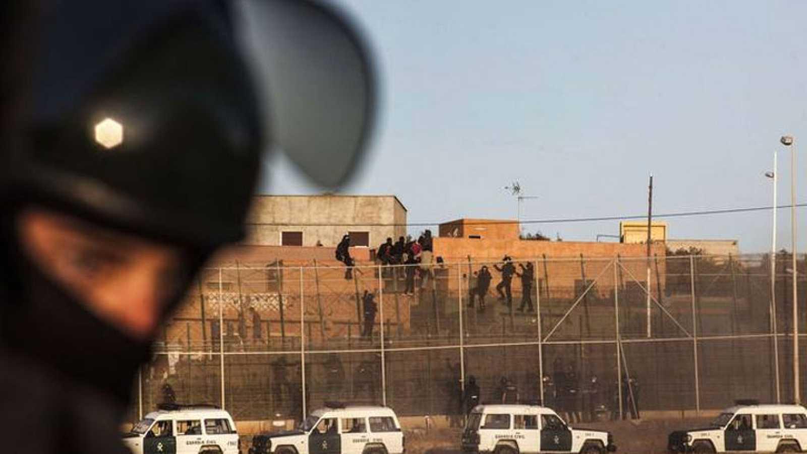 """La Asociación Unificada de la Guardia Civil pide al Gobierno un """"protocolo"""" que les dé respaldo jurídico en Melilla"""