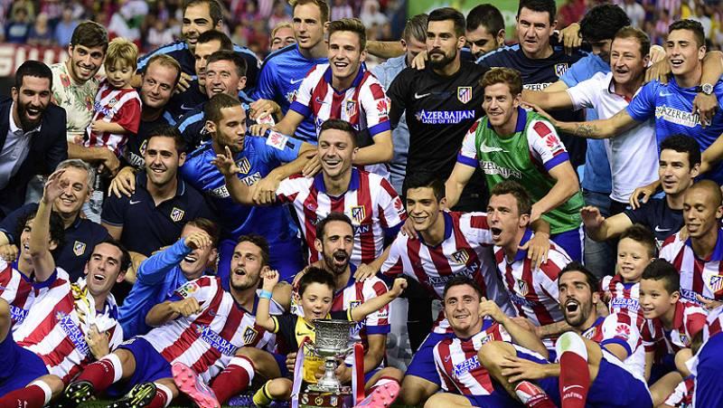 El Atlético ha conseguido su segunda Supercopa de España al derrotar al Real Madrid en el partido de vuelta, gracias a un gol de Mandzukic.