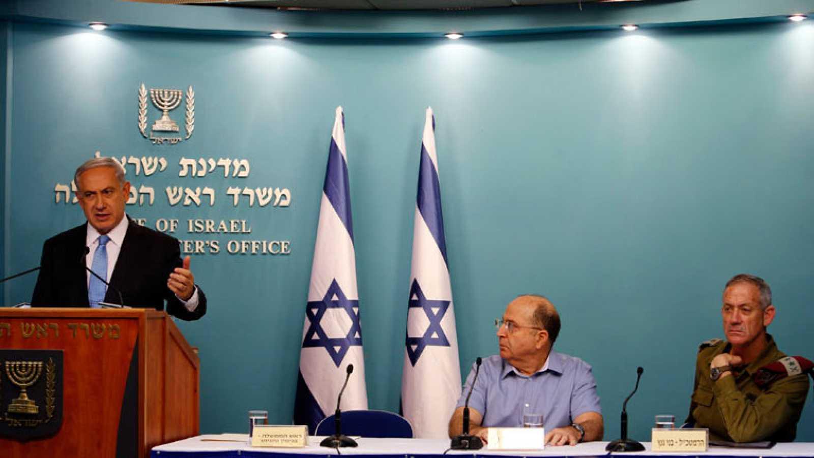 """Netanyahu defiende el """"éxito"""" de Israel en Gaza"""