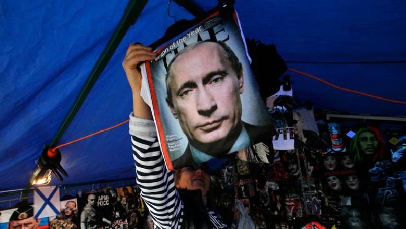 Putin dice que el final de la crisis depende de Kiev y urge a Ucrania a negociar el modelo de Estado