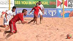 Fútbol playa - Clasificación del mundo zona europea: España-Azerbaian