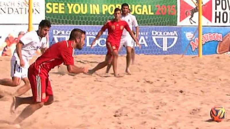 Fútbol playa - Clasificación del mundo zona europea: España-Azerbaian - Ver ahora