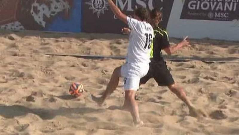 Fútbol playa - Clasificación Campeonato del Mundo. Zona europea. España - República Checa. Desde Jesolo (Italia) - Ver ahora