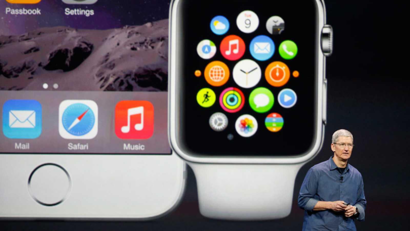 Apple presenta su reloj inteligente y la nueva generación del iPhone