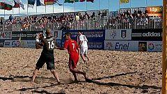 Fútbol playa - Clasificación Campeonato del Mundo. Zona europea. 2ª Fase. España - Francia