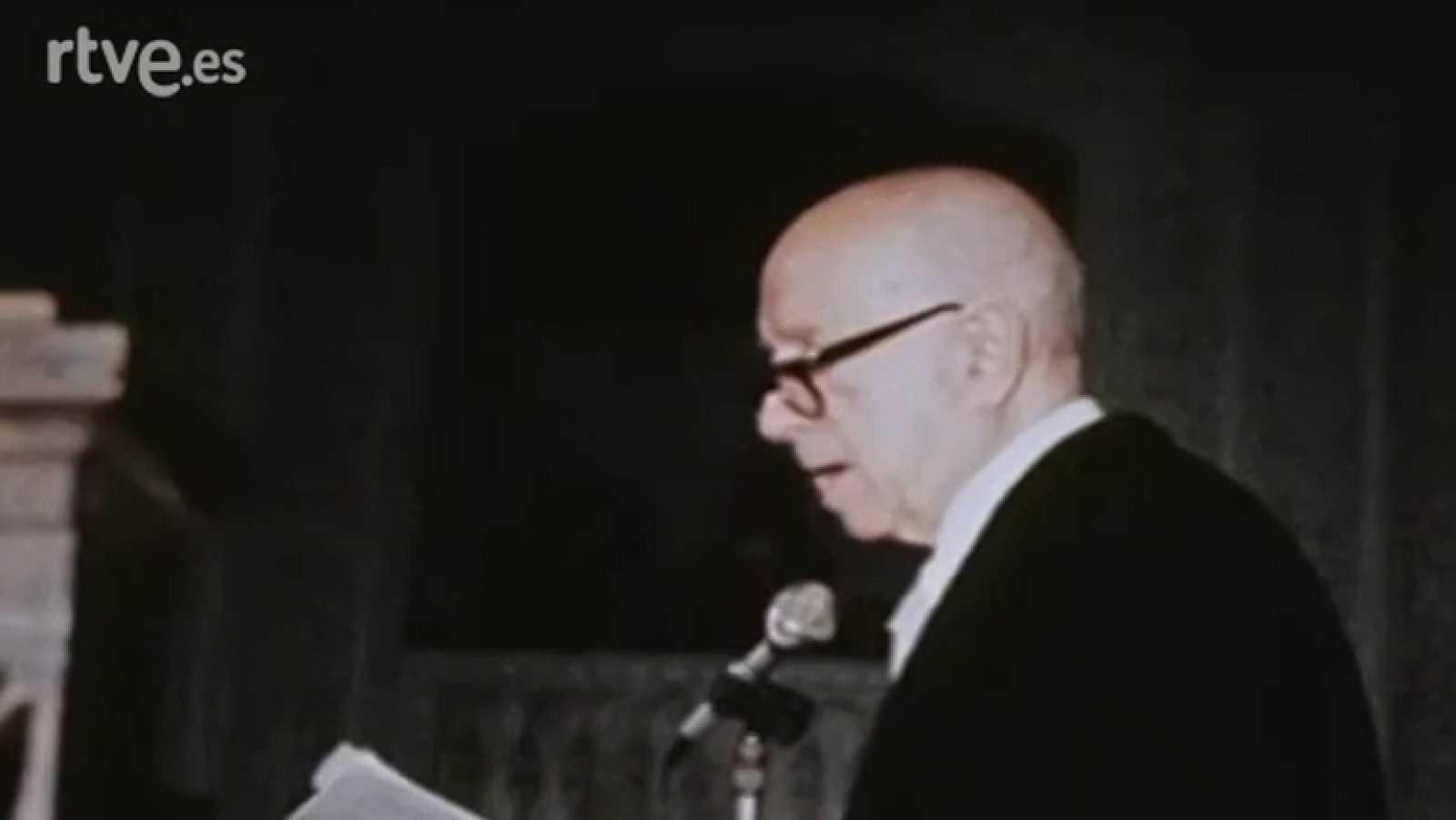 Discurso Dámaso Alonso, Premio Cervantes 1978