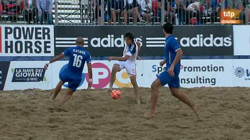 Fútbol playa - Clasificación Campeonato del Mundo. Zona europea. 2ª semifinal. Rusia - Italia - Desde Jesolo (Italia) - ver ahora