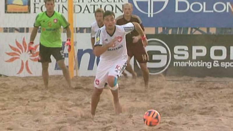 Fútbol playa - Clasificación Campeonato del Mundo. Zona europea. Final. Suiza - Rusia - Desde Jesolo (Italia) - ver ahora