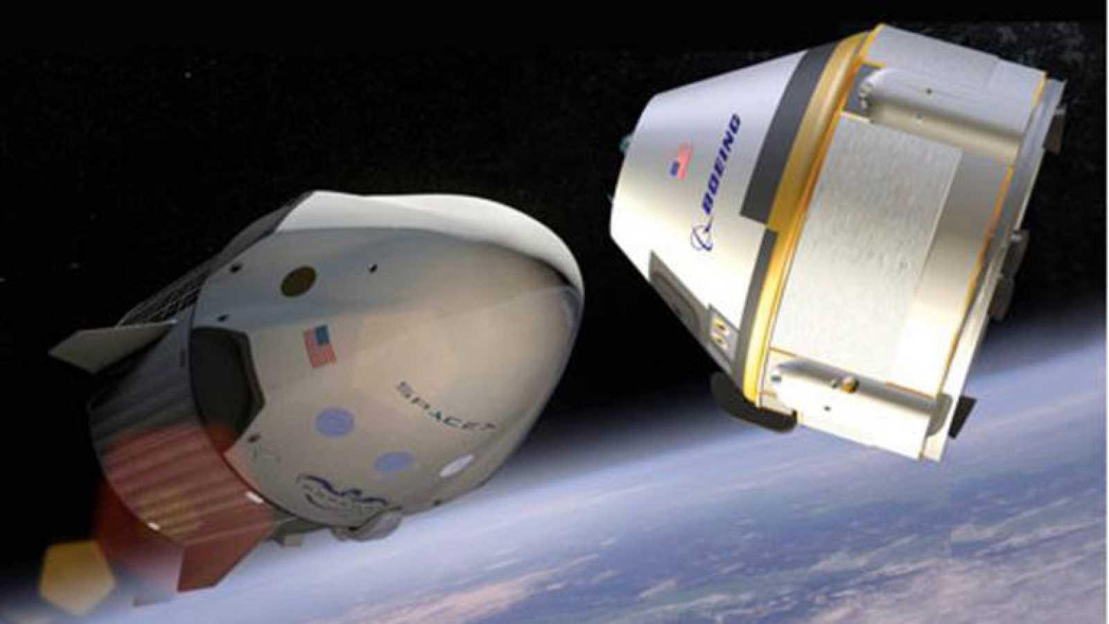 La NASA selecciona los diseños de naves de Boeing y de SpaceX para los futuros lanzamientos de astronautas