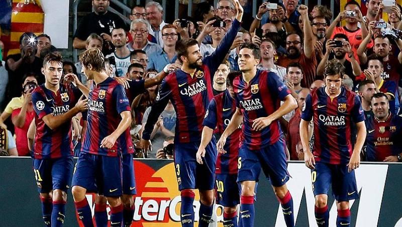 El Barça de Luis enrique debuta con victoria en Champions