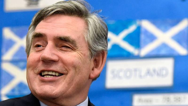 Gordon Brown asegura que las promesas antes del referéndum en Escocia se cumplirán
