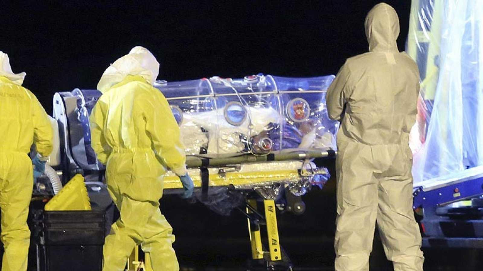 Ingresa en el Hospital Carlos III el religioso infectado con ébola en Sierra Leona