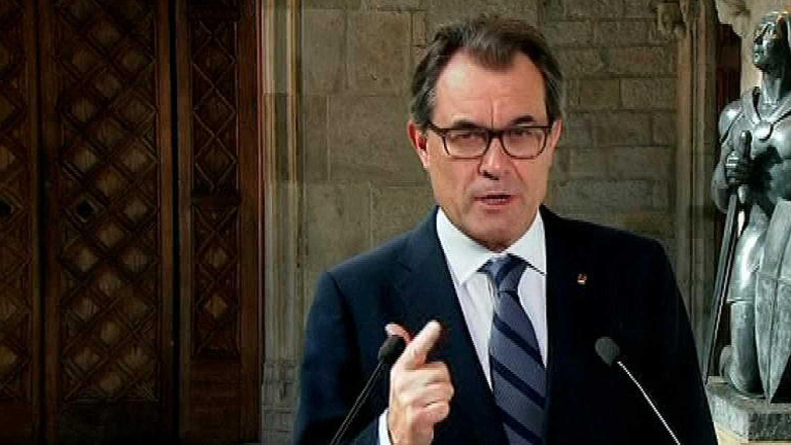 """Artur Mas: """"Es un día que recordaremos siempre"""""""