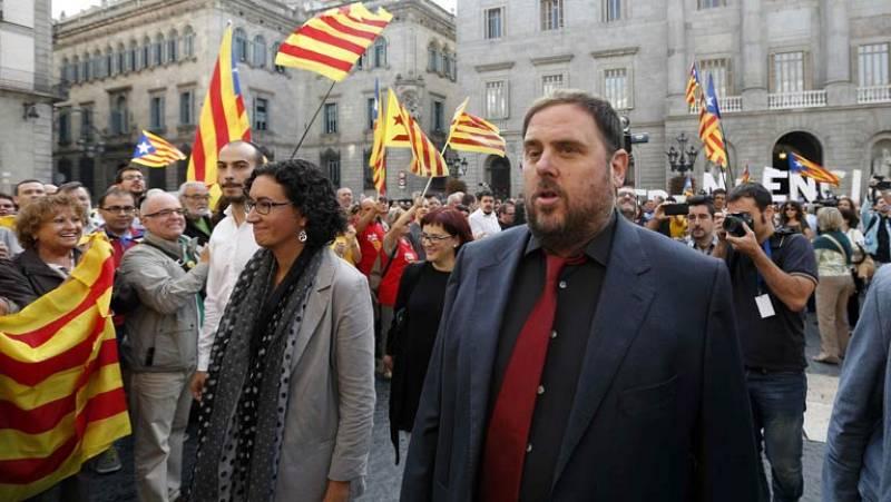 Valoraciones de los partidos catalanes tras la convocatoria de la consulta soberanista