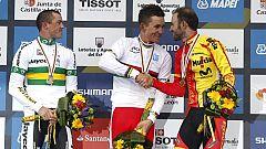 Kwiatkoski, campeón y Valverde, bronce