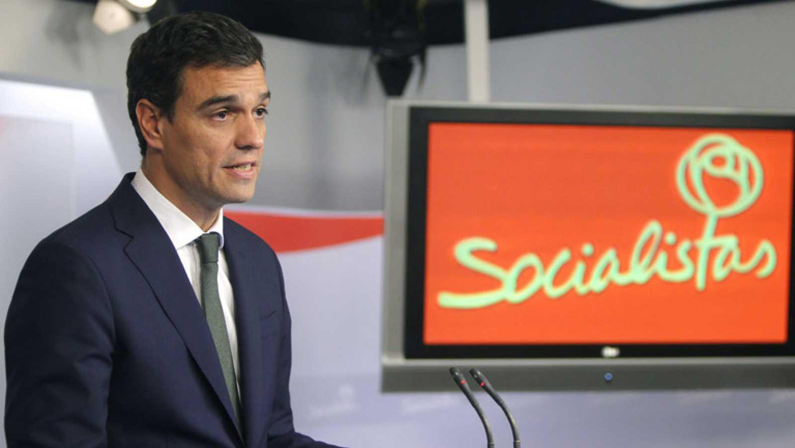 Pedro Sánchez condena la convocatoria de la consulta catalana