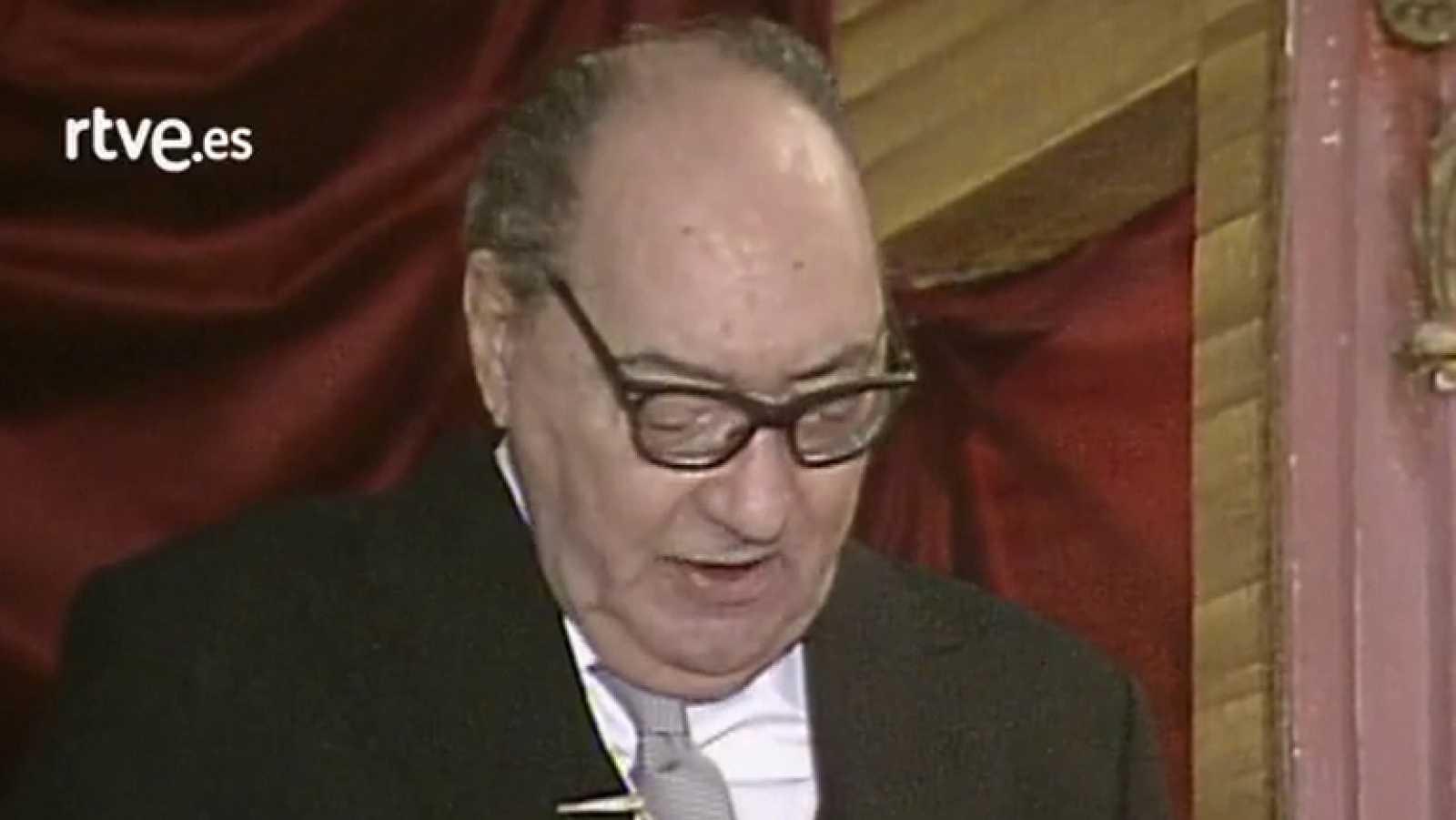 Discurso Juan Carlos Onetti, Premio Cervantes 1980