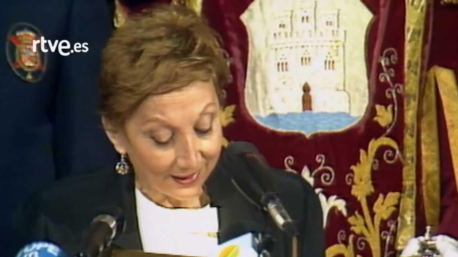 Discurso María Zambrano, Premio Cervantes 1988
