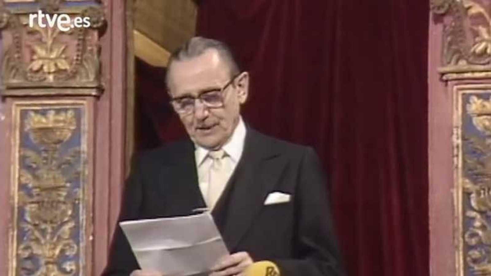 Discurso Antonio Buero Vallejo (Premio Cervantes 1986)