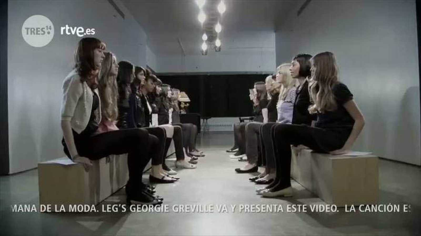 "Tres14 - Videoclip ""I wanna be your dog"" por Leg's Georgie Greville"