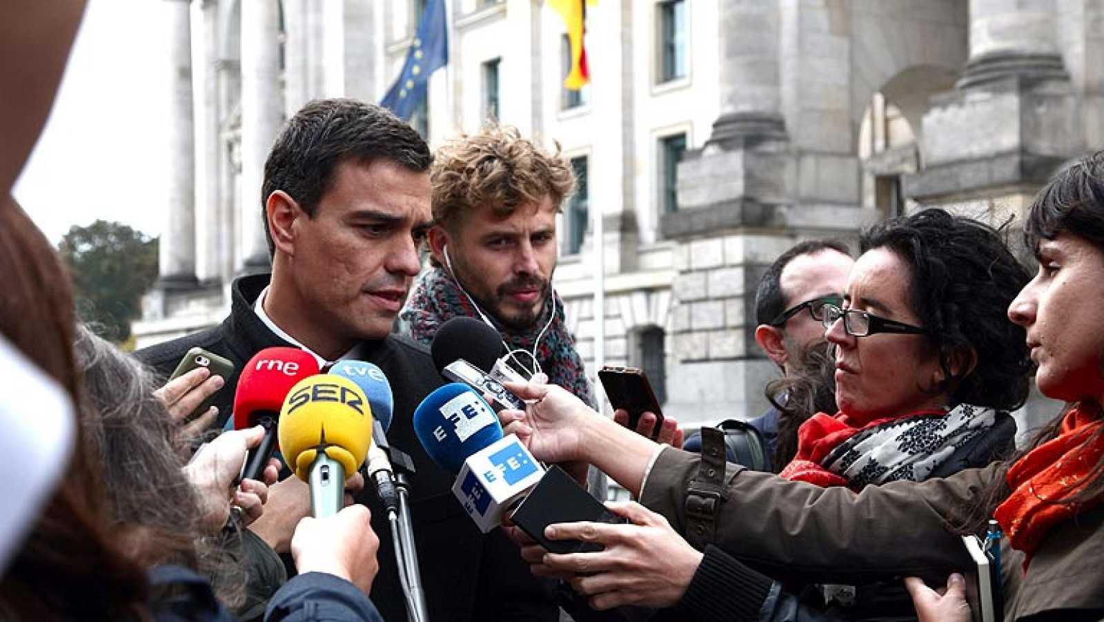 El líder del PSOE ha hablado con el presidente del Gobierno para hablar sobre la situación