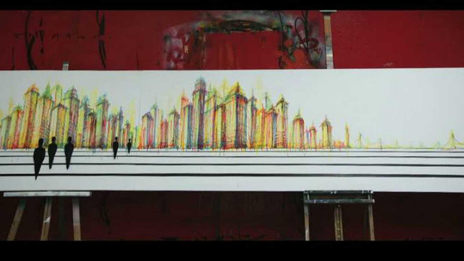 Time Line - Making of de la obra de SUSO33