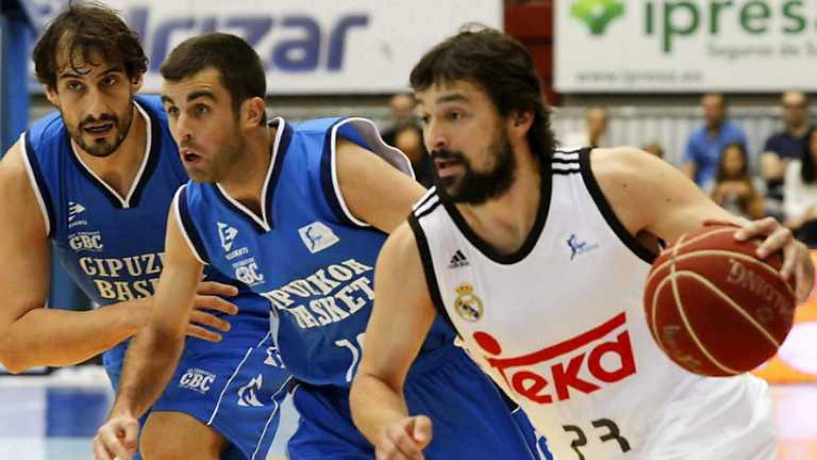Baloncesto - Liga ACB. 2ª jornada. Gipuzkoa Basket - Real Madrid. Desde San Sebastián - ver ahora