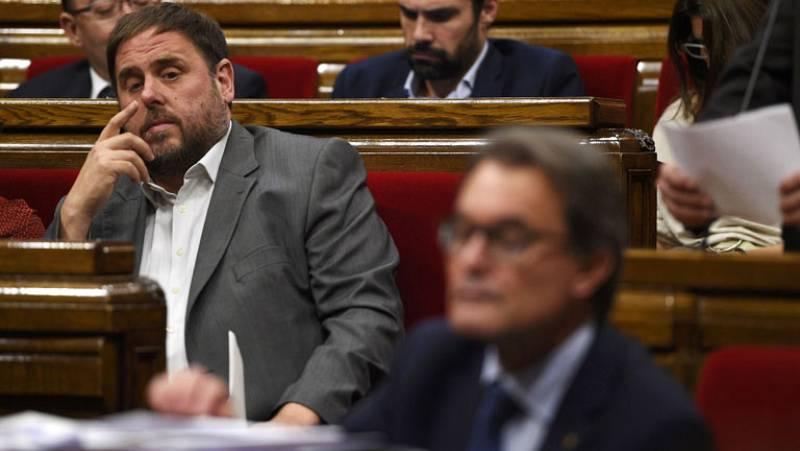 Junqueras acusa a Mas de romper el consenso en torno a la consulta del 9N