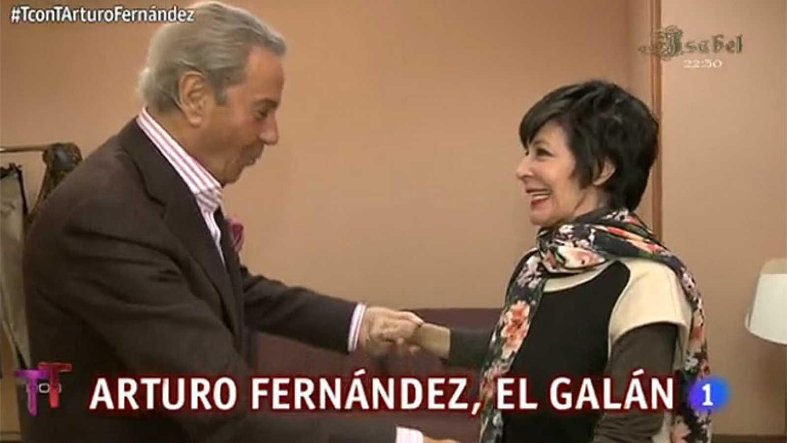 T con T - Arturo Fernández sorprende a Concha Velasco