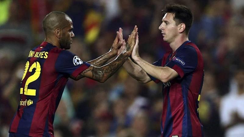 El Barça sigue firme y se impone al Ajax