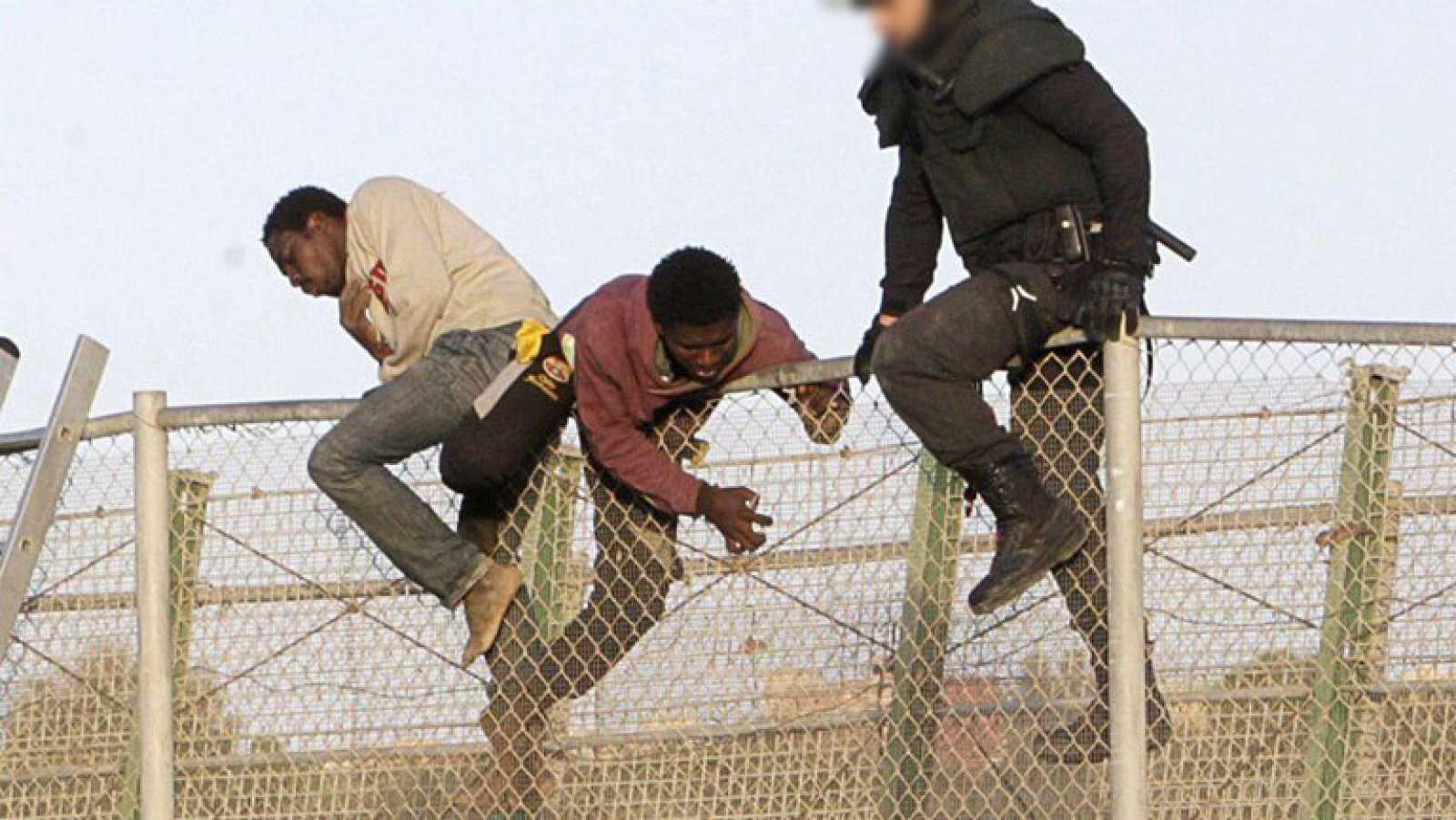 Segundo intento de salto a la valla de Melilla en menos de 48 horas
