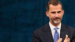 Discurso íntegro del rey Felipe VI en los XXXIV Premios Príncipe de Asturias