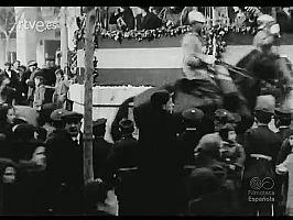 ALFONSO XIII EN ZARAGOZA