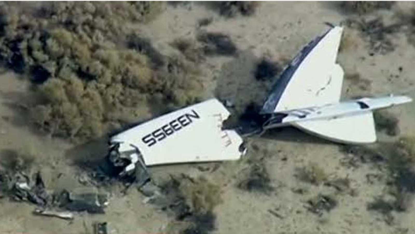 Un muerto y un herido grave tras explotar la nave de turismo espacial de Virgin Galactic