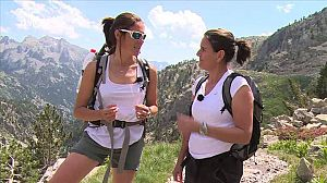 Conchita Martínez sube al Pico Tebarray - Avance