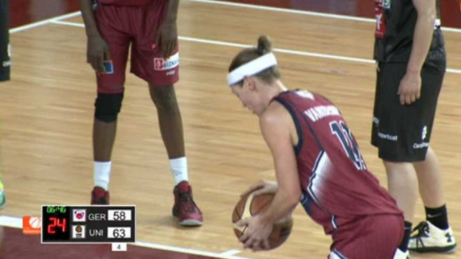 Baloncesto - Liga española femenina. 7ª jornada: Gernika Bizkaia - SPAR Citylift Girona ¿ ver ahora