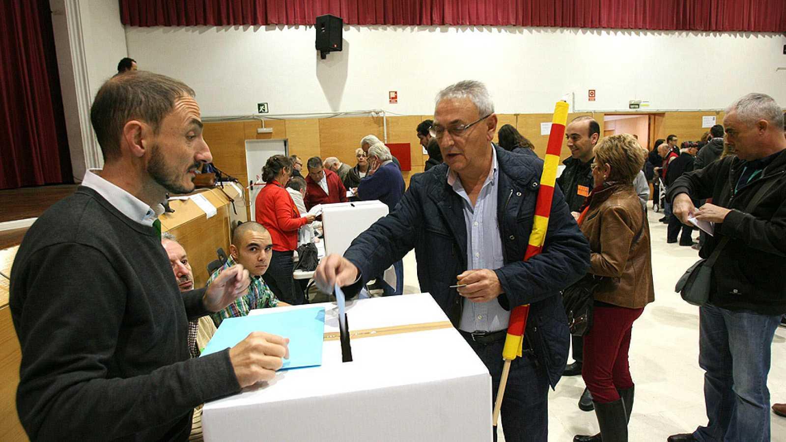 Jornada sin incidencias en el proceso participativo catalán